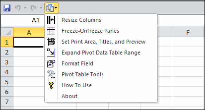 pivot table assistant for microsoft excel
