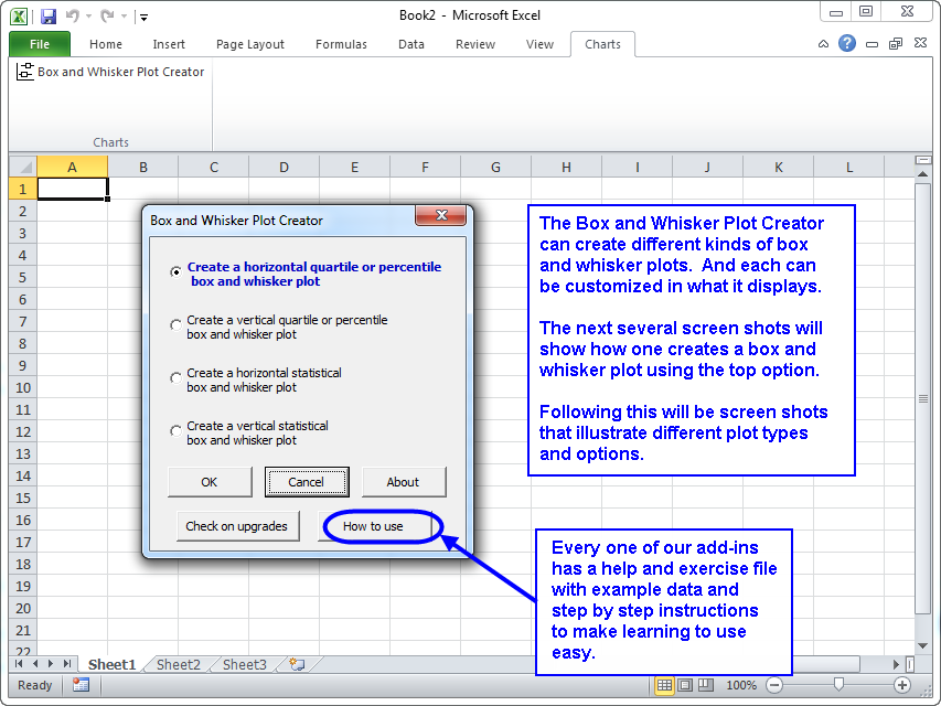 box and whisker plot creator for microsoft excel