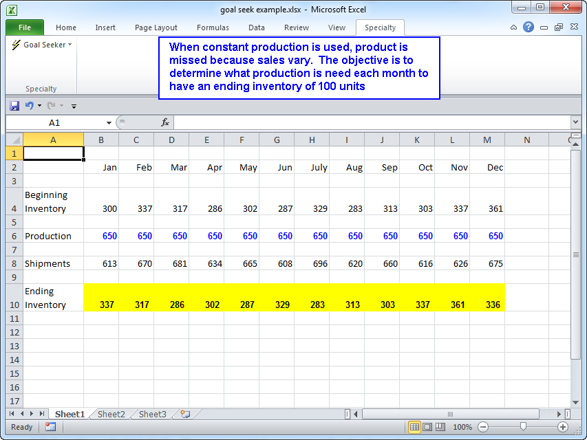 Multicell Goal Seeker For Microsoft Excel. Screen Shots. Worksheet. Worksheet Goalseek Vba At Clickcart.co